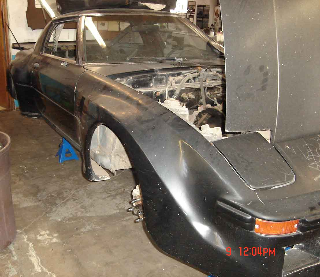 Mazda RX7 Parts mariah Project